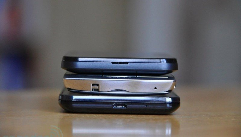 Who's Thinnest – LG Optimus Black, Galaxy SII, or Xperia Arc?