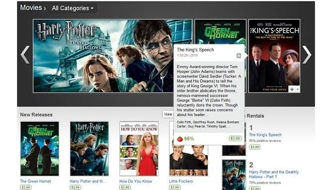Android Market Movie Rentals Blocked on Rooted Devices