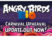 """Angry Birds Rio """"Carnival Upheaval"""" Update Lands in Market"""