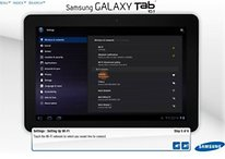 Samsung Galaxy Tab 10.1 Simulator Offers Tips and Tricks