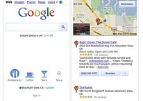 Google Mobile Search Gets Revamped with Integrated Places, Faster Search Recognition and Instant Previews