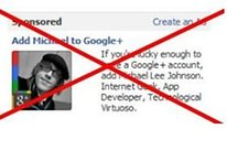 No Google for You! Facebook Bans Ad that References Google+