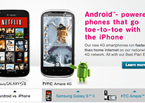 Samsung Galaxy S2 and HTC Amaze Now Available on T-Mobile