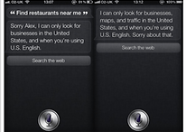 Apple's Siri Has Limited Functionality Outside the U.S.