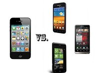 Smartphone Smackdown: iPhone 4S vs. Samsung Galaxy S2 vs. Droid Bionic