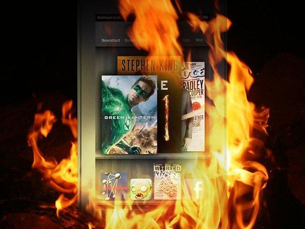 Amazon Kindle Fire Aplicaciones