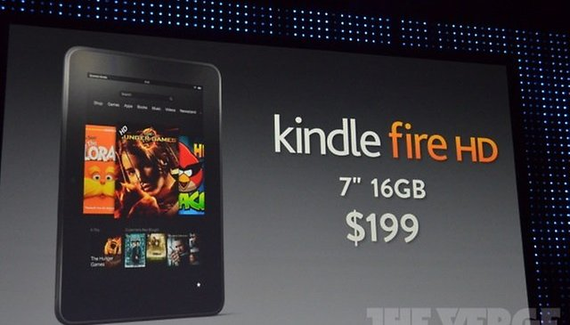 "Amazon Announces Kindle Fire, Kindle Fire HD in 7"", 8.9"" and 4G"