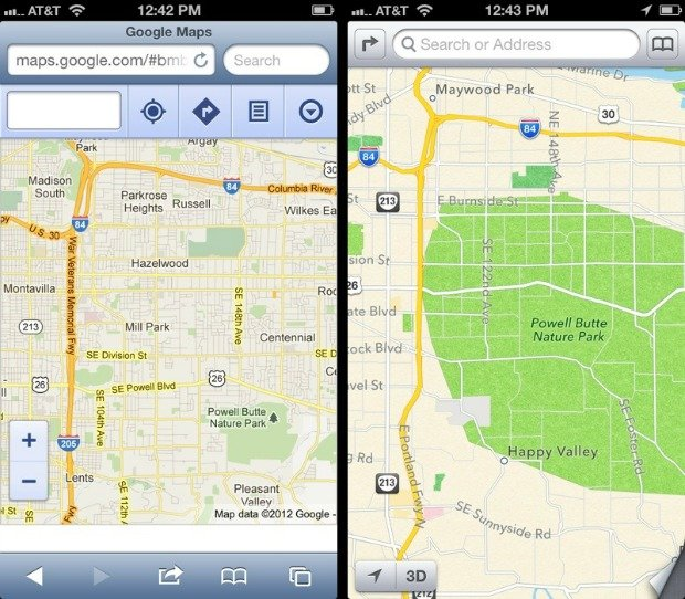 Google Won't Release a Maps App for iOS6 Unless Apple Begs ...
