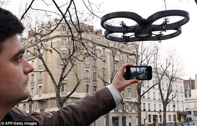 Télécommande Android - Blue Drone