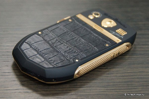 smartphone lamborghini rivestimento coccodrillo