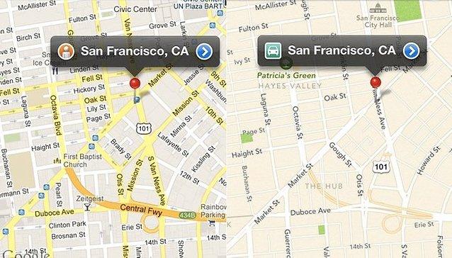 Apple perd ses utilisateurs: plans et service de cartographie ratés.