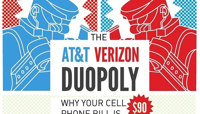 How AT&T and Verizon Conspire to Keep Your Phone Bill High