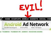 Is Tech Crunch Accepting Ad Money from Evil Android Spammers?