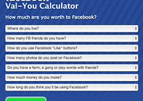 How Valuable Are You to Facebook?