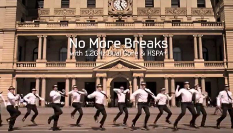 """Samsung Galaxy S II Commercial - """"No More Breaks"""""""