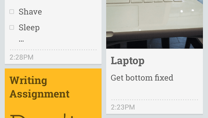 Loie's Wrong: Keep is an Evernote-KILLER