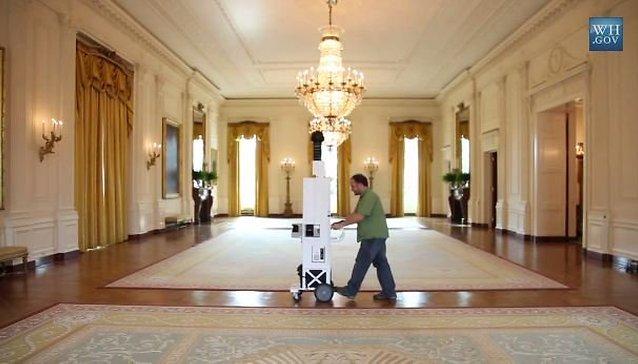 Google Maps Ventures Inside Obama's White House