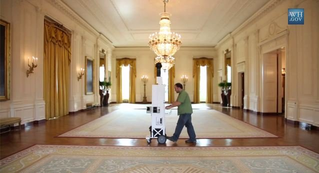 Google Maps Ventures Inside Obama 39 S White House Androidpit