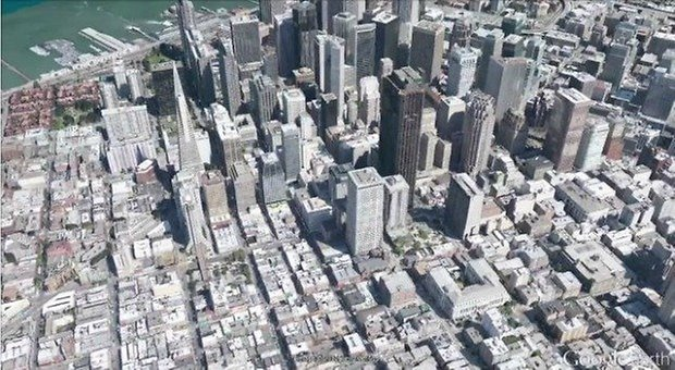 Let The Mapping Wars Begin Google Releases Incredible 3d Map