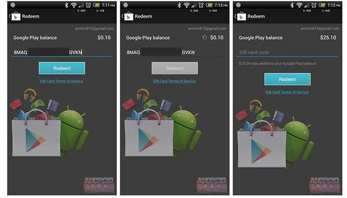 How to Redeem Google Play Gift Cards Right Now