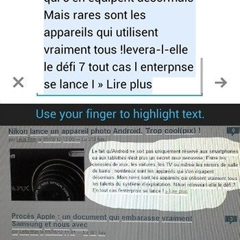Appareil photo translate