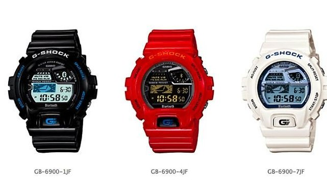 Casio's G-Shock Watch Talks to Your Android, Has Two Year Battery Life