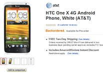 Hot Deal: Amazon Offering HTC One X for $149 w/ Contract, $549 Without
