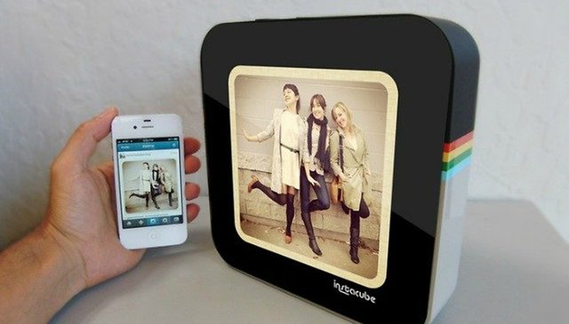 Meet Instacube: The Android-Based Photo Frame for Your Instagram Pics