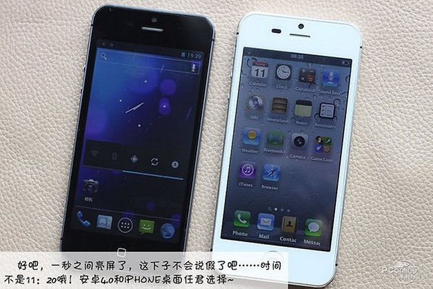 iPhone 5 Android Chine