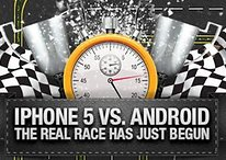 [Infographic] iPhone 5 vs. Android: The Real Race Has Just Begun