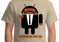 Soyez geek, soyez chic avec ces T-Shirts Android hilarants