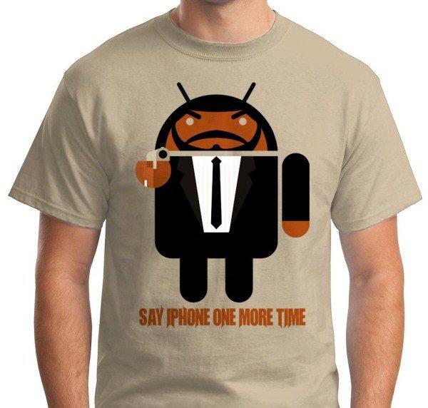 tshirts Android tarantino