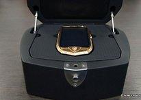 Lamborghini: smartphone in oro e coccodrillo