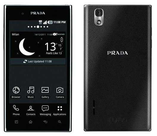 LG Prada téléphone
