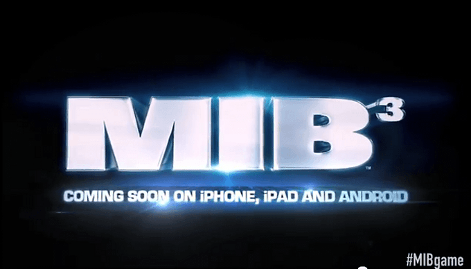 Men in Black 3 Coming to Android