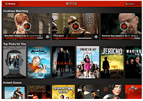 Netflix Unveils New Interface for Android Tablets