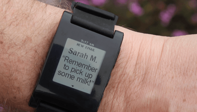 Pebble E-Paper Watch Raises Over $700,000 on Kickstarter in 2 Days