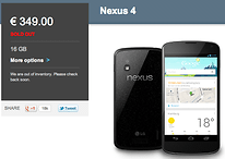 Nexus 4 Sales Hindered By Supply Chain Shortages, Only 375,000 Sold