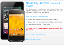 White Nexus 4 on Its Way?