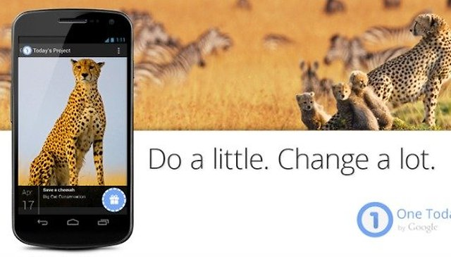 Google's One Today App Makes Donating to Charities Fun and Easy