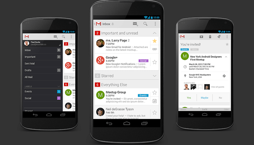 GMail 5 Concept Design Sorts Emails Brilliantly