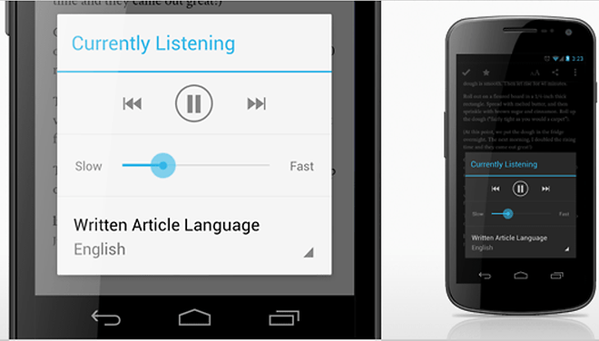 Pocket for Android Updated with Text-to-Speech