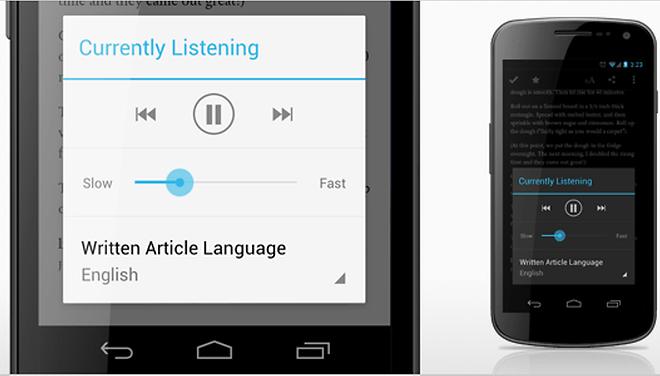 Pocket pour Android transforme vos textes sauvegardés en podcasts