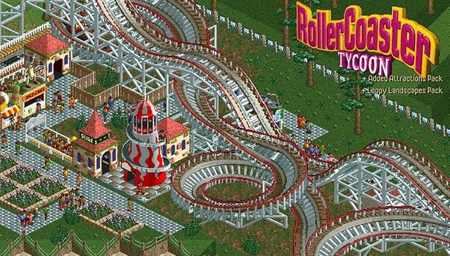 Hold On Tight: Roller Coaster Tycoon Is Coming to Android!