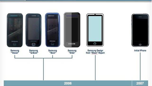 Estas imagens provam que a Samsung não copiou o design da Apple