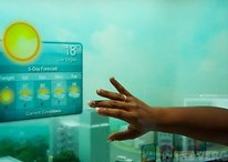 Samsung et sa fenêtre intelligente : le futur s'annonce radieux