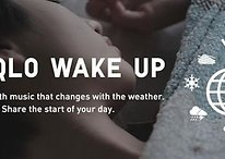 Uniqlo Alarm Clock App Features Music That Changes with the Weather