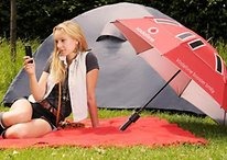 This Umbrella Boosts Your Signal AND Charges Your Phone