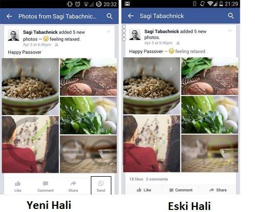 whatsapp facebook button