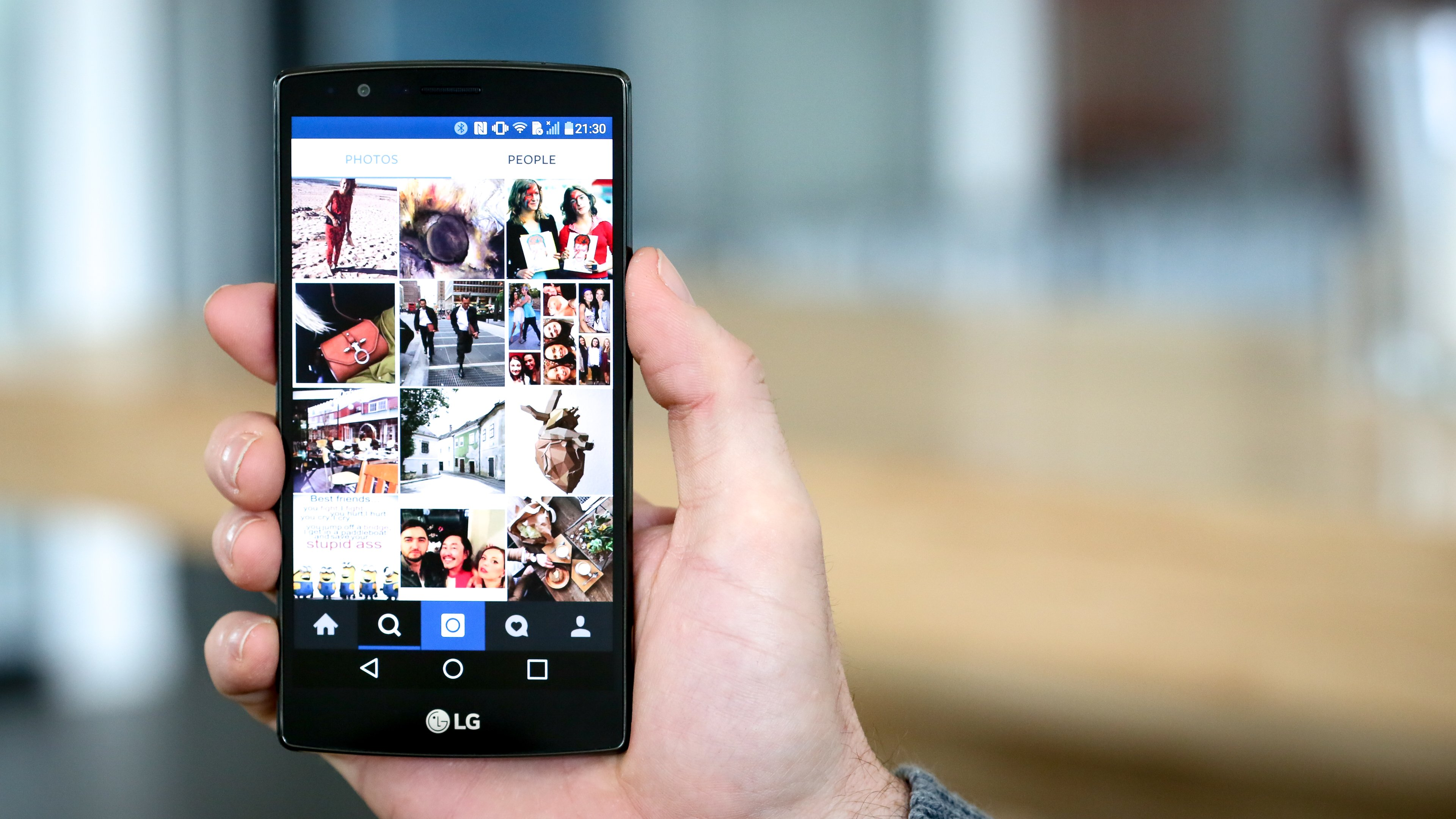How to zoom in on instagram photos androidpit for Best home decor accounts on instagram